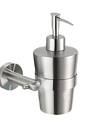 Lotion Bottle Lotion Pump Dispenser / BrushedStainless Steel /Contemporary