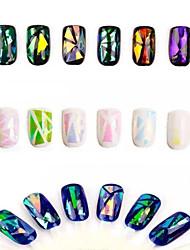 Bling Shimmering Powder Environmental Protection Nail Stickers