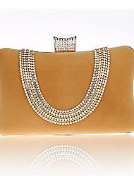 L.WEST Women's diamond Dinner Bag hand bag