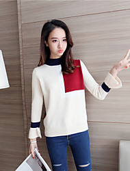 знак # 4232 2016 зима новых женщин&# 39; s вязать свитер смешанные цвета
