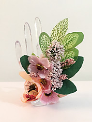 "Wedding Flowers Hand-tied Wrist Corsages Wedding Party/ Evening Dried Flower 3.15""(Approx.8cm)"