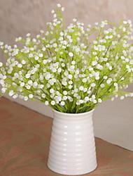 1 Ast Kunststoff Künstliche Blumen 35