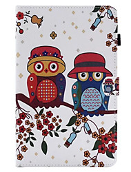 For Case Cover Card Holder with Stand Flip Full Body Case Owl Hard PU Leather for iPad (2017) Pro10.5 Pro9.7 iPad Air Air2 iPad234