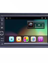 bonroad 7 2din 1024 * 600 6.01 androide tableta del coche del grifo pc 2 DIN universal para la navegación GPS BT Nissan reproductor de