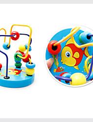 Brinquedos Para meninos Brinquedos de Descoberta Brinquedos de Lógica & Quebra-Cabeças Animal Madeira Verde Azul Amarelo Laranja