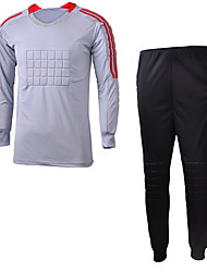 Unisex Soccer Clothing Sets/Suits Spring Summer Fall/Autumn Winter Polyester Football/Soccer Green Red Gray Black Light Blue