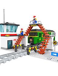 Soulage le Stress Pour cadeau Blocs de Construction Maquette & Jeu de Construction Traîne ABS 5 à 7 ans 8 à 13 ans Vert Jouets