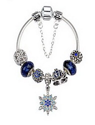 Chain Bracelet Crystal Alloy Natural Snake Jewelry Blue Jewelry 1pc