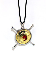 Inspired by Naruto Naruto Uzumaki Anime Cosplay Accessories Necklace Golden Alloy