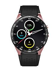 умные часы рк Finow 1,39 «» AMOLED 400 * 400 смарт-часы 3g вызова 2.0MP камеры шагомер сердечного ритма