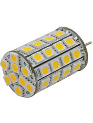 4W GY6.35 Luminárias de LED  Duplo-Pin 49 SMD 5050 300-330 lm Branco Quente Decorativa V 1 pç