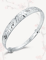 Bangles Natural Sterling Silver Jewelry Jewelry For Gift