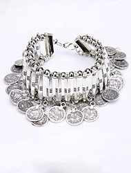 Chain Bracelet Alloy Bohemia Jewelry Silver Jewelry 1pc