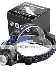 U'King® ZQ-X811B CREE XML T6 LED Zoomable 2000LM Headlamp Headlight Bicycle Light for Camping Hiking