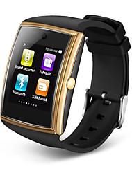 умные часы 3d поверхность bluetooth3.0 НФК поддержки сим карта TF шагомер сна монитор водонепроницаемый SmartWatch для Ios андроида
