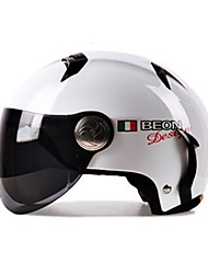 BEON 102 Motorcycle Summer Helmet Half Helmet Harley Helmet Anti-Fog Anti-UV Security Helmet Unisex Fashion
