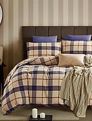 Geometrisch Bettbezug-Sets 4 Stück Baumwolle Zeitgenössisch Reaktivdruck Baumwolleca. 1,50 m breites Doppelbett ca. 1,90 m breites