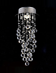 Modern Lamp  spiral Crystal chandelier
