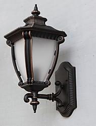 чистый алюминий ретро дверь лампы