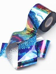 1 roll Nagel-Kunst-Aufkleber Wassertransfer Abziehbilder Make-up kosmetische Nagelkunst Design