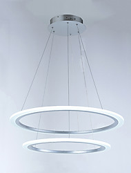 Modern 2 Ring LED Pendant Light chandeliers Lighting Fixtures with 42W CE FCC