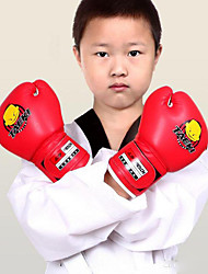 Kids Cartoon Sparring Ki ck Fight Boxing Training Gloves Red Training For Age 5-12 Years Old Children