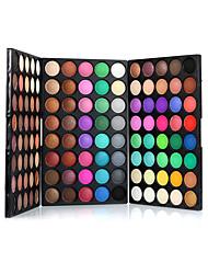 120色 Paleta de Sombras de Ojos Seco Paleta de sombra de ojos Polvo Normal Maquillaje de Diario