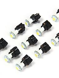 10pcs T5 LED lampadine bianche
