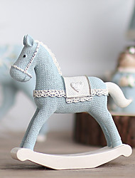 Animals Polyresin Modern/Contemporary CountryGifts Indoor Decorative Accessories European Pony Resin Decoration