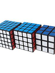 Shengshou® Cubo 3*3*3 4*4*4 5*5*5 Velocità Livello professionale Cubi Nero Bianco Adesivo Smooth Feng Anti-pop della molla regolabile ABS