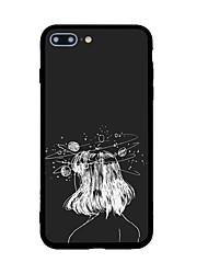 Pour Motif Coque Coque Arrière Coque Dessin Animé Dur Acrylique pour AppleiPhone 7 Plus iPhone 7 iPhone 6s Plus/6 Plus iPhone 6s/6 iPhone