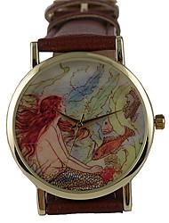 Men's Women's Kids' Unisex Sport Watch Dress Watch Fashion Watch Wrist watch / Japanese Quartz Leather Band Vintage Bohemian Charm Casual