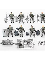 Tue so als ob du spielst Model & Building Toy Spielzeuge Neuartige Spielzeuge Plastik Grau Für Jungen