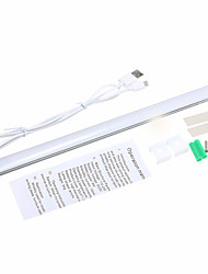 youoklight 1pcs 3w DC5V 1a 30cm blanc chaud / froid dimmable led blanche capteur tactile lumière usb bar lampe placard armoire penderie