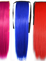 Human Hair Extensions Synthetic 90G 55CM Hair Extension