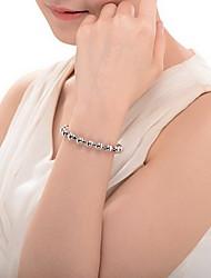 Homme Bracelets de rive Mode Perlé Argent sterling Bijoux Bijoux Pour 1pc
