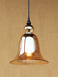 Pendant Light ,  Country Retro Chrome Feature for Mini Style Designers Metal Living Room Dining Room Study Room/Office Entry Hallway