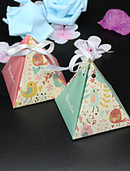 50pcs Love Birds Baby Shower Candy Box Gift Box Wedding Favors And Gifts Box Party Supplies