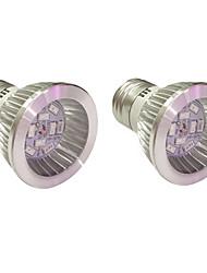 5W E14 GU10 E27 Lampes Horticoles LED 10 SMD 5730 165-190 lm Bleu Rouge V 2 pièces