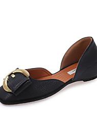 solas leves sandálias de verão leatherette ocasional calcanhar plana toe metálico caminhadas