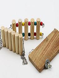 Bird Toys Wood Multi-Color