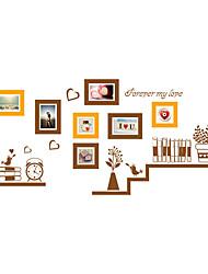 Животные ботанический Мода Наклейки Простые наклейки Декоративные наклейки на стены Фото наклейки,Винил материал Украшение домаНаклейка
