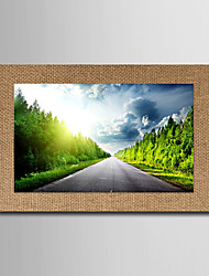 Art Print Famous Landscape Modern Realism,One Panel Horizontal Panoramic Print Wall Decor For Home Decoration