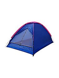 2 Personen Zelt Einzeln Familien Zelte Einzimmer Camping Zelt PolyesterWandern Camping Reisen Draußen