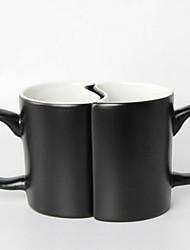 Nouveautés Articles pour boire, 250 ml Sensible à la chaleur couleur changeante Céramique Thé Tasses de Thé