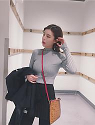 unterzeichnen nett ~ ~ koreanische Version Pullover Bluse Hemd