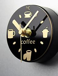 Модерн Море Настенные часы,Новинки Акрил Металл 9 В помещении Часы