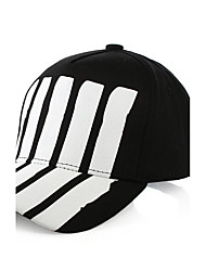 Unisex Fashion Cotton Sun Hat Baseball Cap Casual Holiday Summer Men Women All Seasons Black/Red