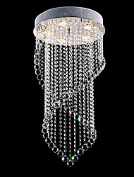 Hanging Crystal ChandelierPendant Lamp Cord SetString Pendant Light