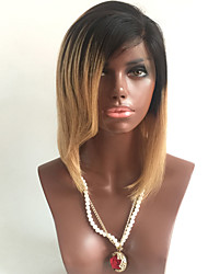 Top Quality Brazilian Human Virgin Hair Wigs Silky Straight T1B /4/27 Blonde Hair Wig For Black Woman Glueless Lace Front Wigs With Baby Hair On Sale